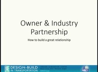Owner & Industry Partnership - How to Build a Great Relationship